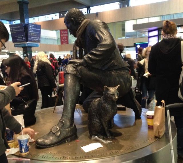 Matthew Flinders statue euston