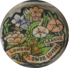 London Flower lovers badge etc