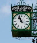 Minnie Lansbury clock
