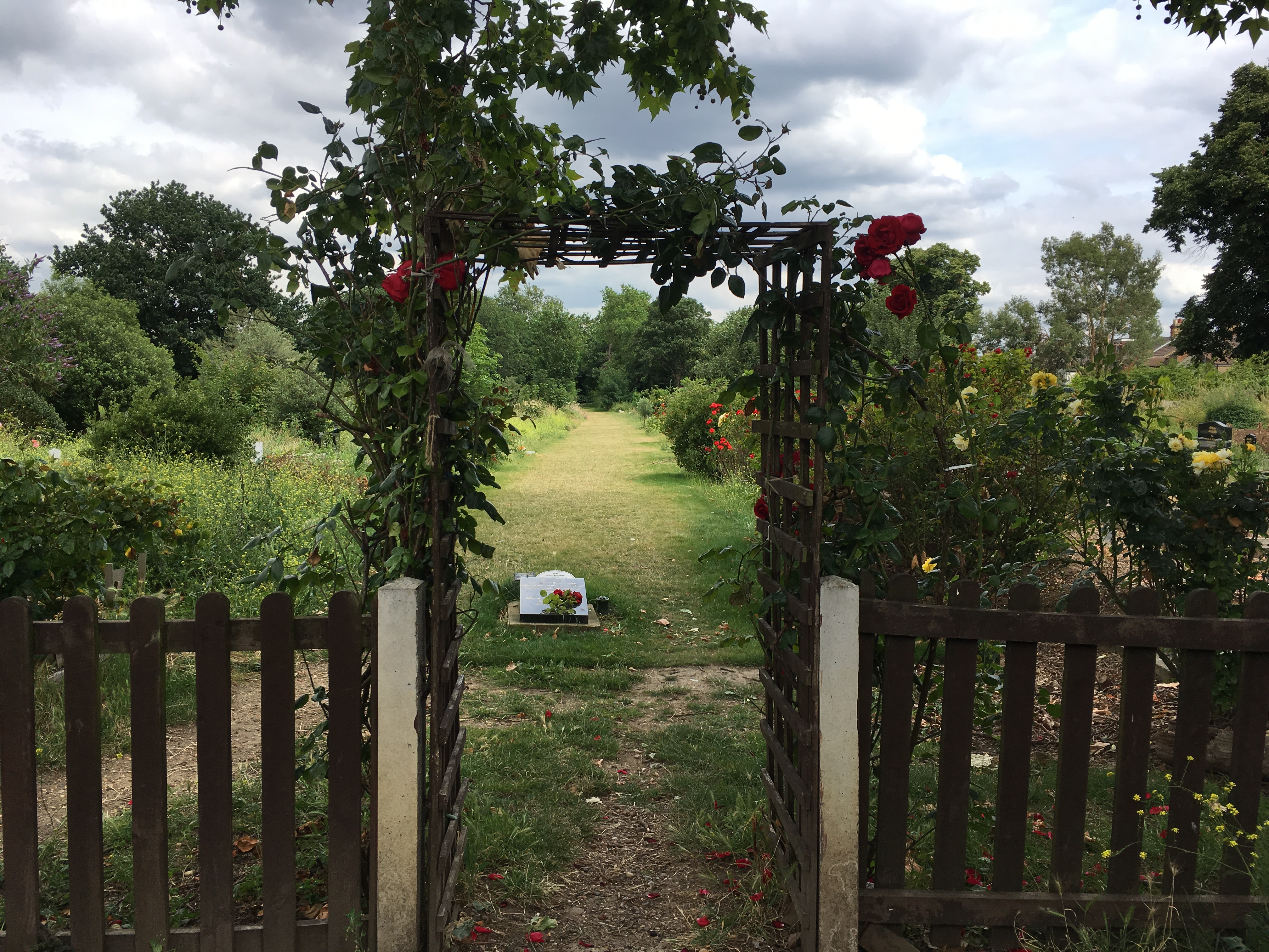 Wood grange Park Cemetery